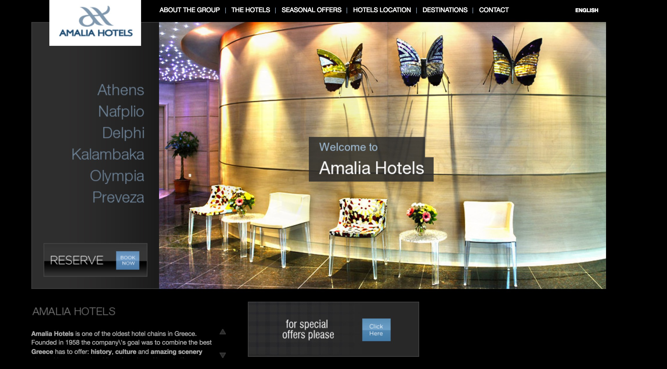 7 Hotel Group Websites for x2interactive.gr